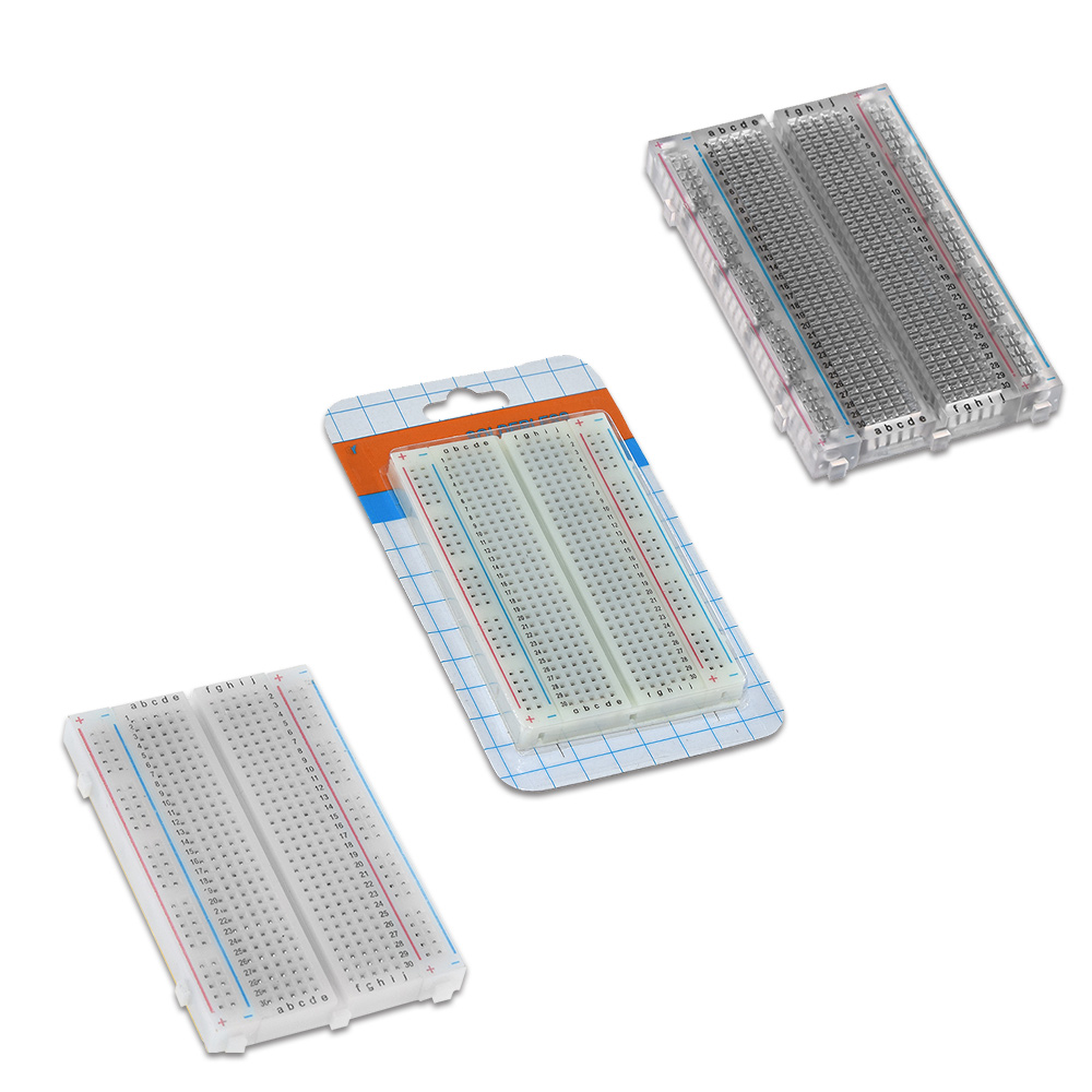 Electronic Components & Supplies Fine Universal Experimental Platform With Uno R3 And 400 Tie Point Breadboard And Transparent Clear Acrylic Board