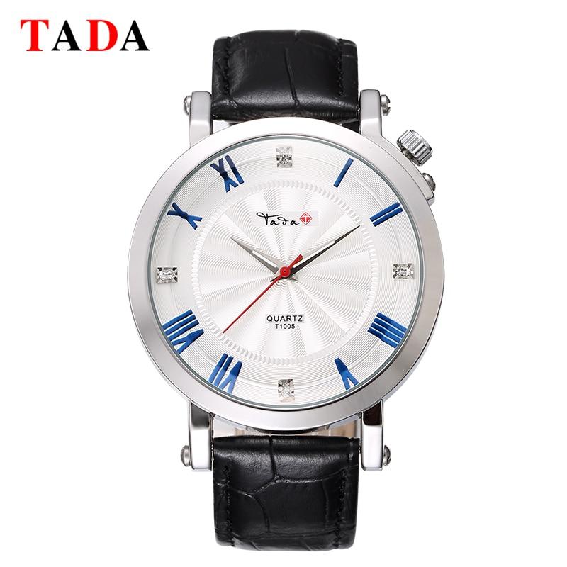Mens Top Marca de Lujo Relojes de pulsera Tada Cuarzo Hora Reloj 30 m - Relojes para hombres - foto 2