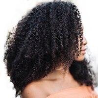 Brazilian Kinky Curly Virgin Hair Human Hair Weave Bundles Natural Color 100% Hair Weaving Extensions Honey Queen Hair Products
