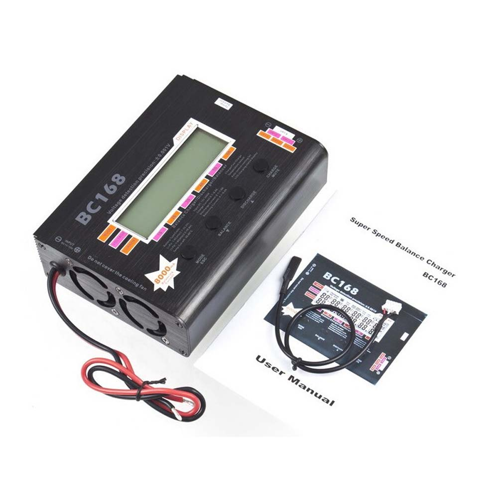 1pcs AOK BC168 1-6S 8A 200W Super Speed LCD Intellective Balance Charger/Discharger For rc helicopter part 1pcs 3 in 1 battery balancer lcd voltage indicator battery discharger 5w 50w 150w for choose aok free shipping