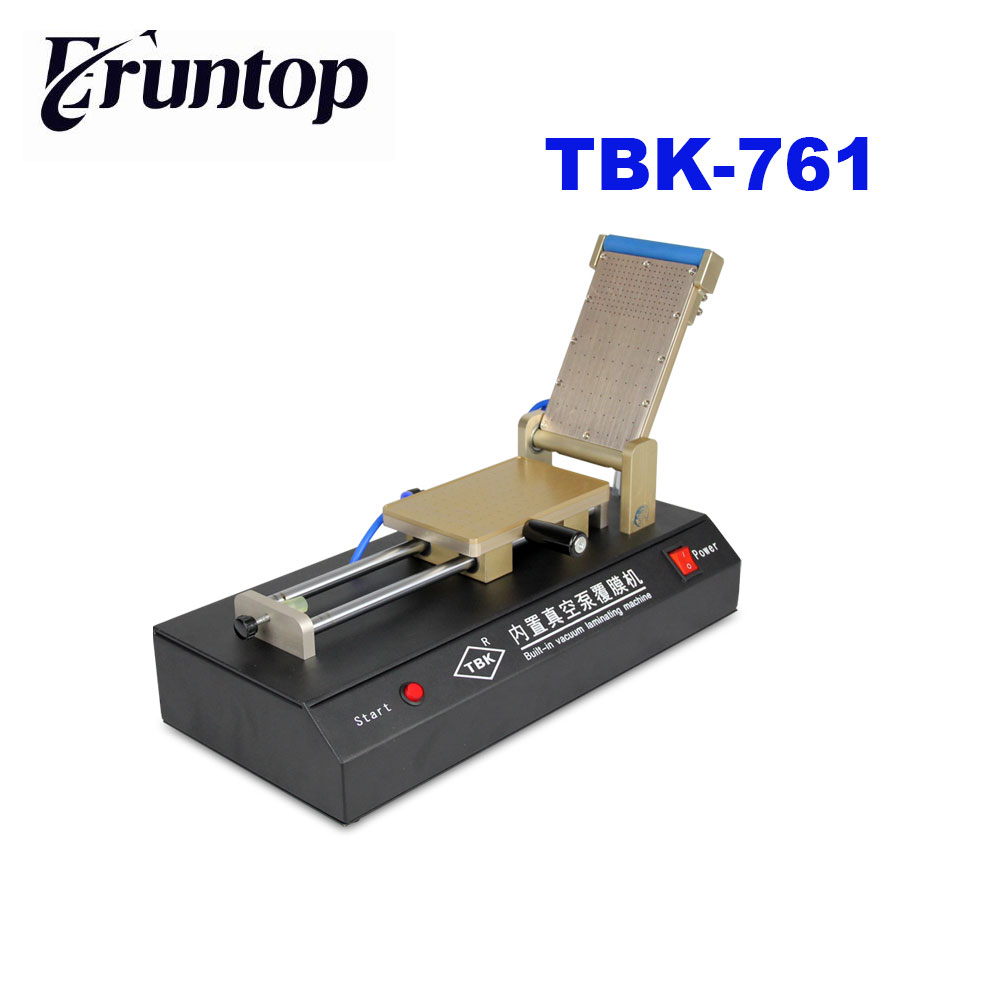 TBK Universal 3 in 1 Automatic OCA Film Laminating Machine  Built-in Vacuum Pump for Sumsung S7 Edge Tablet PC 3 in 1 automatic vacuum oca film laminator machine build in pump non air compressor for samsung s6 edge
