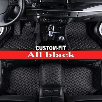 Custom fit car floor mats for BMW 7 series E65 E66 730Li 735Li 740Li 745Li 750Li 760Li 730d 740d 745d 740i 745i 5D carpet liners