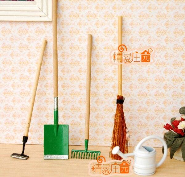 G05-x496 одежда для малышей подарок игрушка 1:12 кукольный домик мини Мебель миниатюрный rement сад инструмент 5 шт./компл.