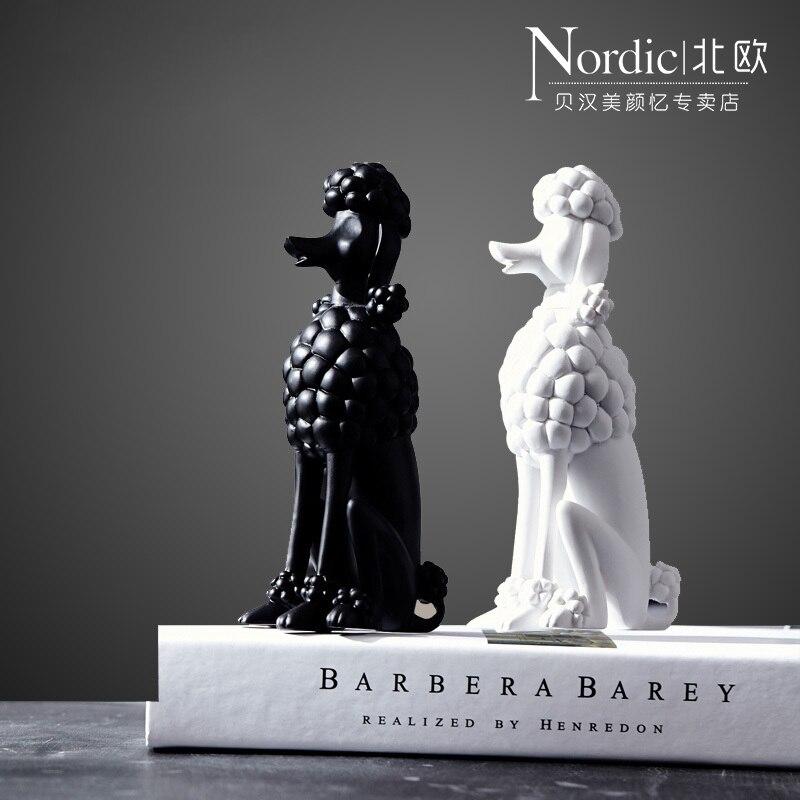 Online Kaufen Großhandel schwarz weiß pudel aus China ...