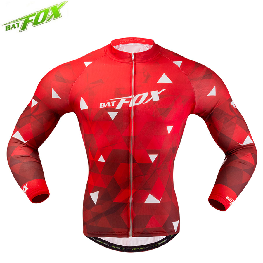 Breathable Cycling-Clothing Long-Sleeves Sport-Bicycle Motocross Ropa-Ciclismo MTB Windproof