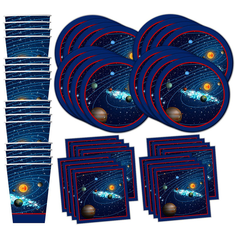 52pcs Space Party Disposable Party Tableware Galaxy Astronaut Theme Birthday Party Decorations Kids Outer Space Party Supplies52pcs Space Party Disposable Party Tableware Galaxy Astronaut Theme Birthday Party Decorations Kids Outer Space Party Supplies