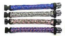 12 шт разноцветные браслеты из Паракорда для мужчин и женщин