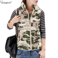 TANGNEST Fashion Camouflage WINTER VEST 2017 Military Ultralight Winter Casual Waistcoat Sleeveless Jacket Cotton Coat WWV268