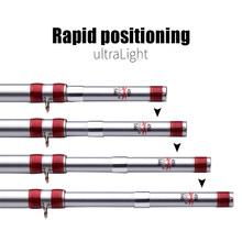 DOAO Front-end Fishing Rod 4.5-7.2M High Carbon Telescopic Rod Sea fishing Rod Carp Fishing Positioning Rod