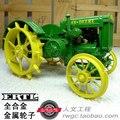 KNL HOBBY J Modelo D Deere tractor rueda de metal modelo de vehículo agrícola ERTL 1:16 regalos EE.UU.