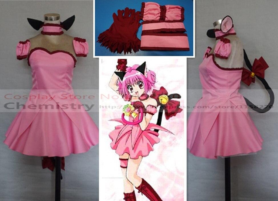 Tokyo Mew Mew Ichigo Momomiya Cosplay Costume On Aliexpress Com