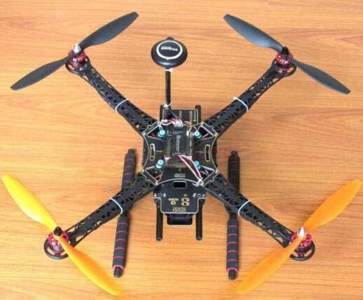 DIY S500 Quadcopter APM2.8 FC NEO-7M GPS HP2212 920KV BL Motor Simonk 30A ESC qav250 carbon quadcopter mt2204 2300kv motor simonk 12a esc cc3d fc 5045 props