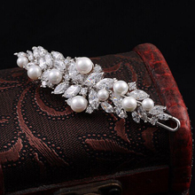 Pearl Jewelry Hair Clip