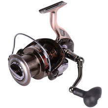 HiUmi 4000-9000  Full Metal Body Jigging Trolling Long Shot Spinning Fishing Reel Light Spool Surf Fishing Reel