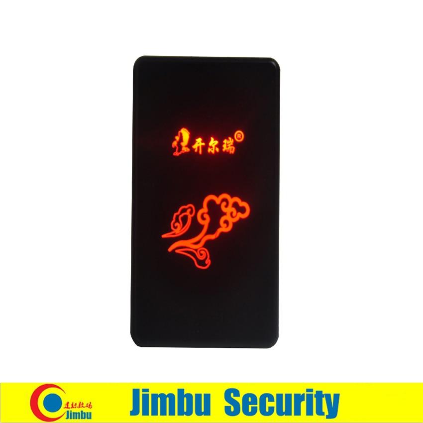 Door intercom entrance guard ID card reader size 80mmX50MMX15.5MMDC 12V transmission 100m wiegand26/34 reading speed 0.2S 125KHZ rs485id card reader rs485 read head 485 entrance guard card reader waterproof head support for secondary development