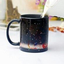 Neue Mode Keramik Wärme Farbwechsel Becher Zwölf Konstellationen Kaffeetasse Tasse