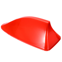 Shark Fin Antenna 1pc Signal Red Car Auto Shark Fin Roof Antenna Radio FM/AM Decorate Aerial Universal Car Styling Accessories все цены