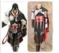 Anime juegos de rol ropa prop assassin creed II ezio auditore da firenze, edición negro, de Halloween cosplay envío gratis