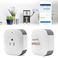 New Sonoff S30 Wifi Smart Socket Smart Home Wireless Remote Control Timer Socket Work With