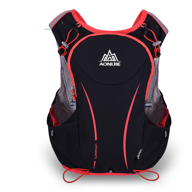 f8b551600e AONIJIE 5L Outdoor Sport Running Backpack Women/Men Marathon Hydration Vest  Pack for 1.5L