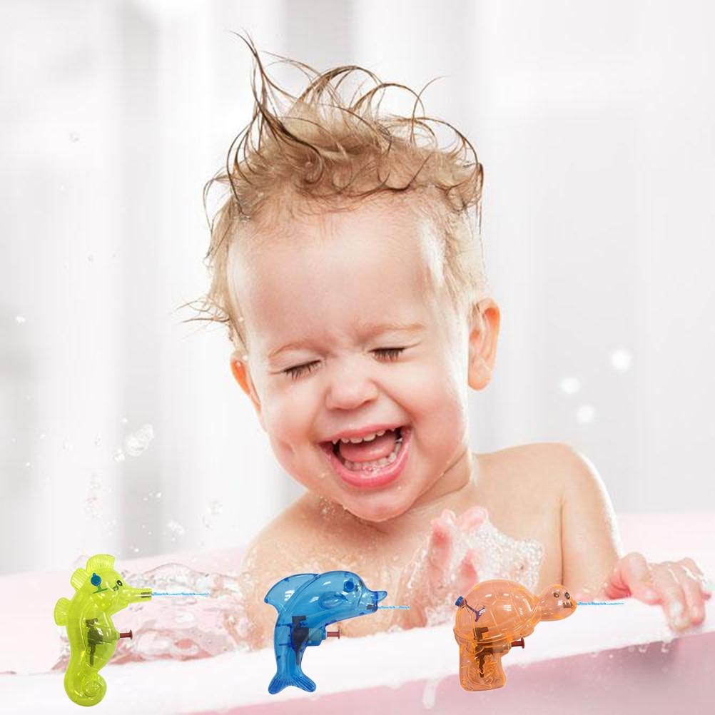 Детские забавные игрушки, 6 шт., Случайная, мини-игрушка в форме животных, детские игрушки, пляжные опрыскиватели