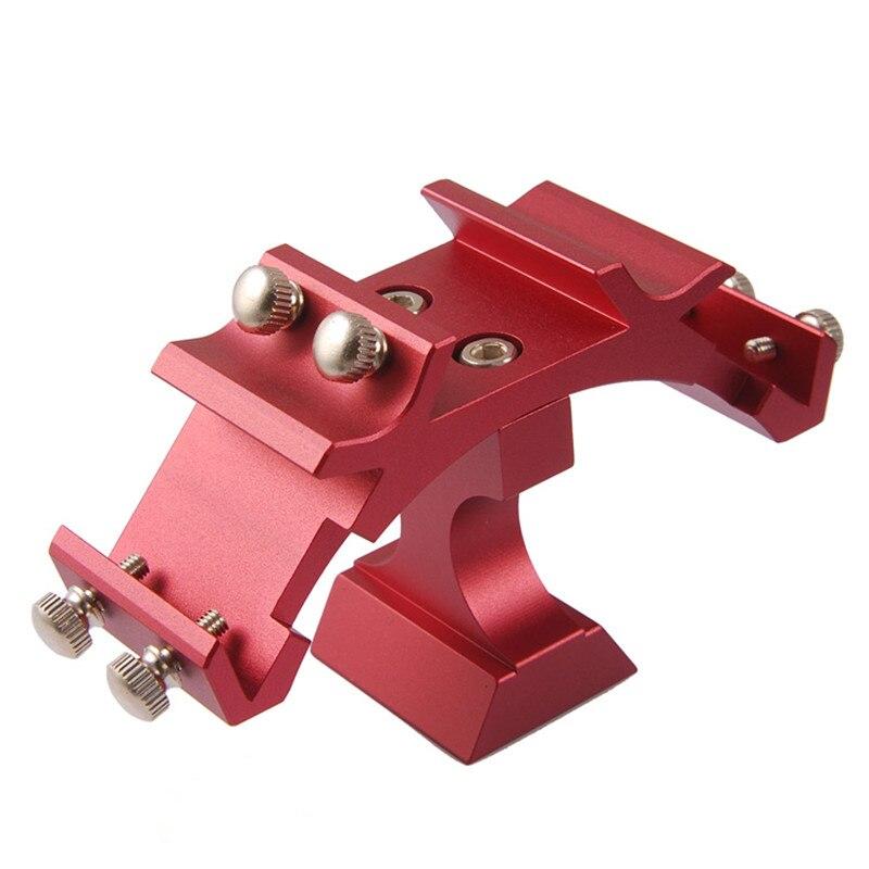 Rouge de luxe multi-start finder fente pour Vixen SkyWatcher finder taille télescope raccords multi-fixe fente queue d'aronde plaque de montage