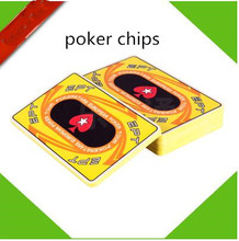 Square ceramic poker mahjong chips ceramic chips club currency entertainment spot