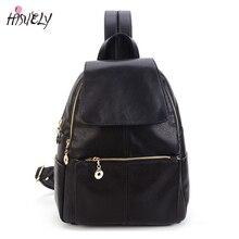 Новая Корея мода PU кожаная сумка женщины рюкзак кожаный рюкзак школы женщин путешествия рюкзак для девочки Бесплатная доставка