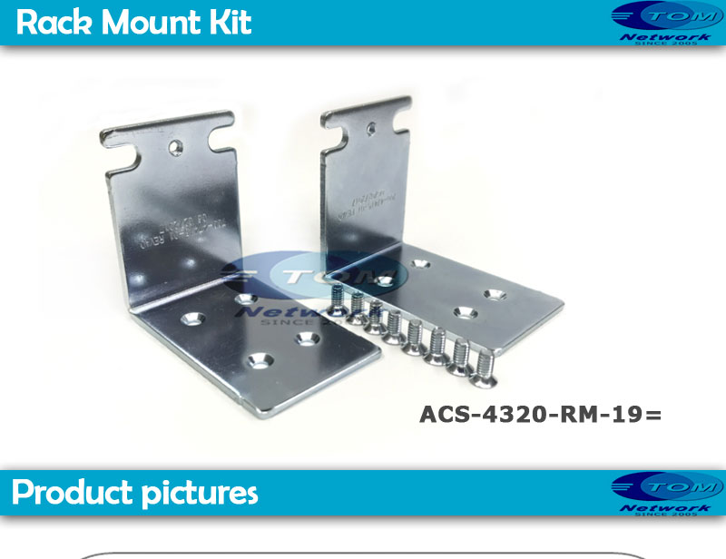 """New ACS-4320-RM-19 19/"""" Rack Mount Kit for Cisco ISR 4321"""