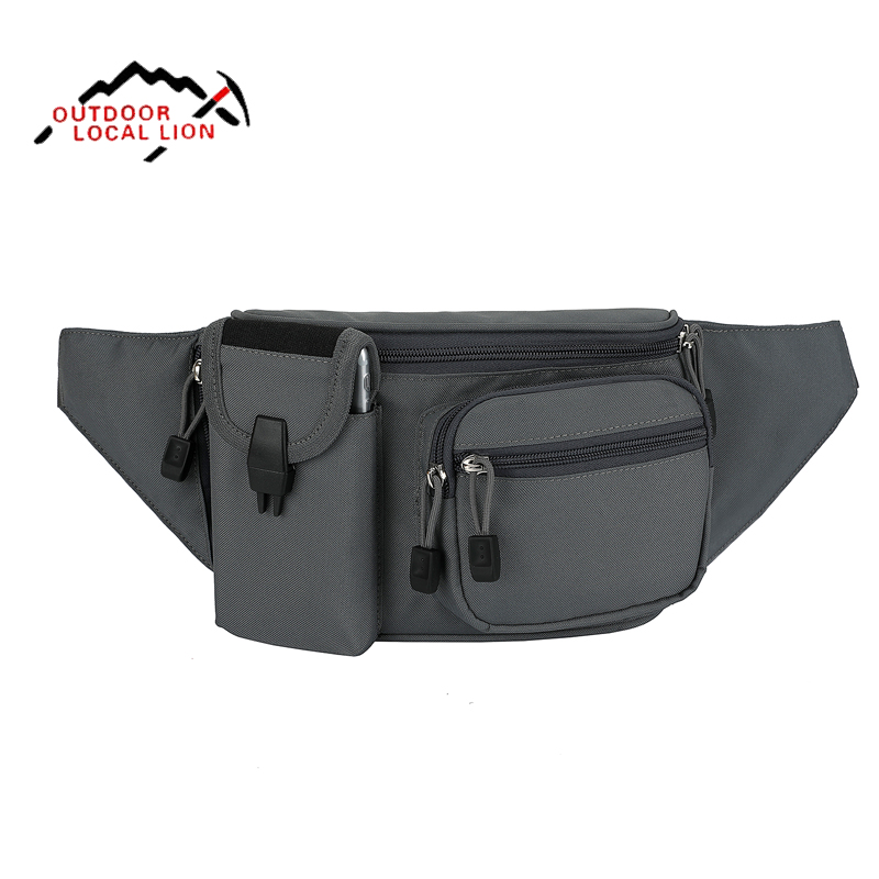 2019 New Outdoor Running Sport Waist Pack Lightweight Belt Bag Multifunction Men Women Travel Fanny Pack With Bottle Holder