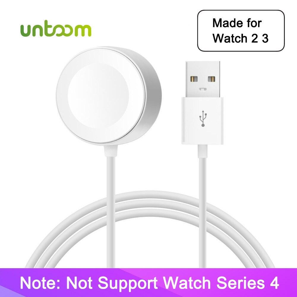Untoom Drahtlose Ladegerät für iWatch Serie 2 3 USB Magnetic iWatch Ladekabel 3,3 füße/1 meter für Apple uhr Ladegerät