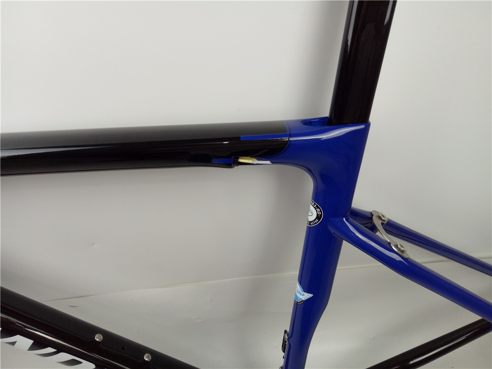 "29er 19.5/"" Carbon MTB Frame Seatpost BB30 3k Glossy Mountain Bike ISP Internal"