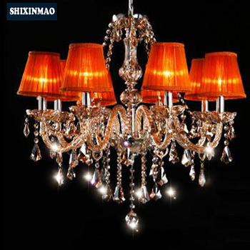 SHIXNIMAO Luxury  Electric  Crystal Chandelier 6Arm/8Arm/10Arm/15Arm Crystal lamp  Crystal Chandelier