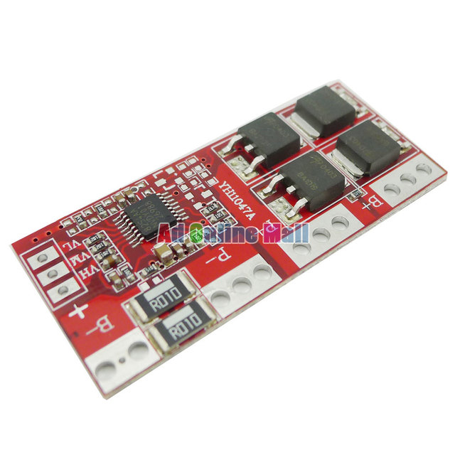 Aihasd 4S 30A High Current Li-ion Lithium Battery 18650 Charger Protection Board 14.4V 14.8V 16.8V Overcharge Over Short Circuit