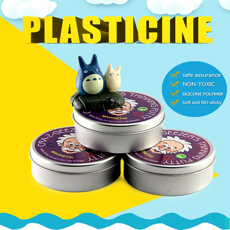 magnetic plasticine magnet clay magnet toy DIY stress relief play fun 24pcs air clay fimo polymer plasticine modelling clay light diy soft creative handgum toys diy plasticine clay learning toys