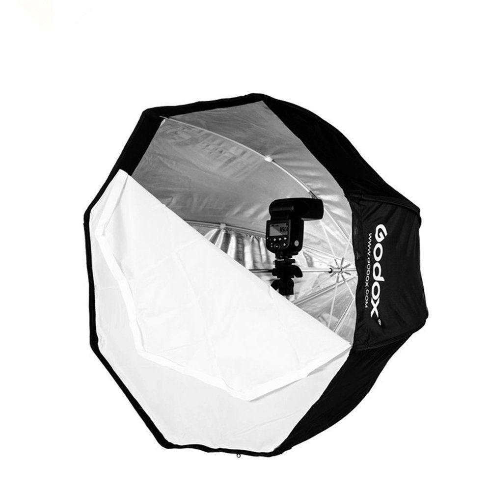 120cm Godox Portable Octagon Softbox Umbrella Brolly Reflector for Speedlite CD15