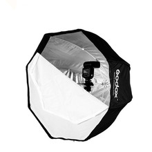 120cm Godox Portable Octagon Softbox Umbrella Brolly Reflector for Speedlite CD15