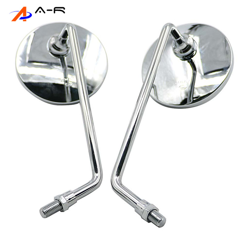 M10 10mm Rearview Back MIRRORS Rear view MIRROR for Honda CT90 SL350 XL250 ST90 S90 CB100 CL100 New Rare 88110-329-730 88120