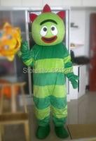 Йо gabbagabba талисмана yogabbagabba праздничный карнавальный костюм