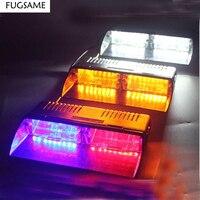 FUGSAME High Quality LED S2 shovels light ray lights Signal Light LED Dash Light Red/Blue LED Strobe Police Flash Light