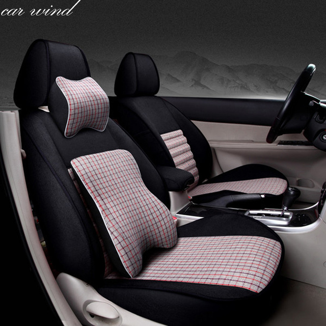 Car Wind automobiles Auto Flax set car seat covers for ford focus 2 ...
