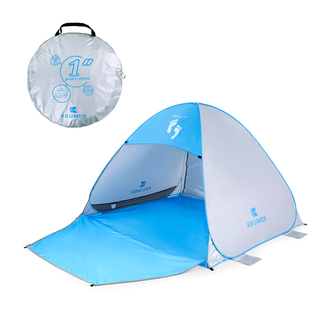 KEUMER Instant Automatic Pop Up Beach Tent UV Protection Sun Shade Shelter + Extention Floor Fishing  sc 1 st  AliExpress.com : beach tent uv protection - memphite.com