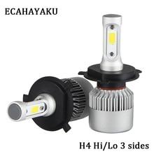 2Pcs Auto H4 LED H7 H11 H8 9006 HB4 H1 H3 HB3 S2 Car Headlight Bulbs COB 72W 8000LM Automobiles Lamp 6500K 12V 4300K 8000K LED crossstreet cr10 6x15 4x100 d60 1 et36 s