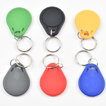 15pcs/lot RFID 13.56 Mhz nfc Tag Token Key Ring IC tags For Part nfc phone and tablet(China)