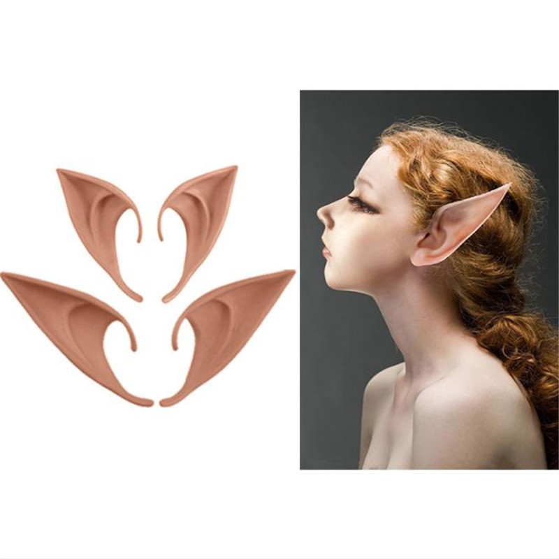 Hot sale Anime Cosplay Avatar Vampire Elves Cute Long Ears Prop Cos Halloween Christmas Party Masquerade Costume For Women Girl