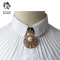 New Free Shipping fashion Men's male bow tie marriage British wedding dress Korean groom Groomsmen metal pearl drill ON SALE