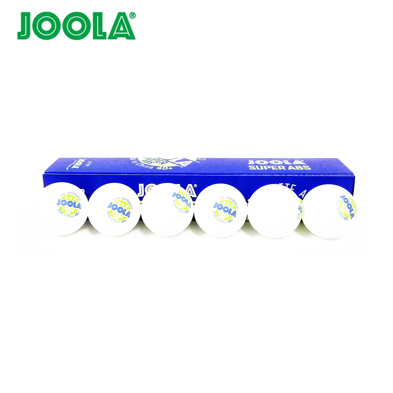 JOOLA 3-Star SUPER ABS Table Tennis Ball ITTF Approved New Material Plastic 40+ Ping Pong Balls Wholesales