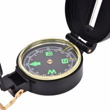 1 sztuk Metal Lensatic kompas Camping wojskowy piesze wycieczki styl wojskowy Survival marsz wskazujący Guider Luminous kompas tanie tanio JETTING Typu handheld Other Wskaźnik Wskazując przewodnik mini Luminous Compass HIKE