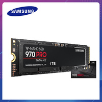 Samsung 970 PRO V Nand NVME PCIE M.2 SSD Hard Drive HD SSD 1TB Solid State Hard Disk 512GB HDD MLC 2280 for Laptop Computer