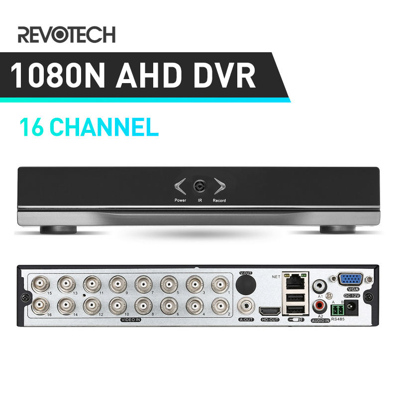 5In1 Hybird DVR 1080N AHD DVR 16 Channel Video Recorder H.264 16 Channel 1080P NVR For CCTV AHD Camera & IP Camera